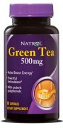 Natrol Green Tea 500 мг 60 капс