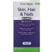Natrol Skin Hair Nails Women`s With Lutein 60 капс